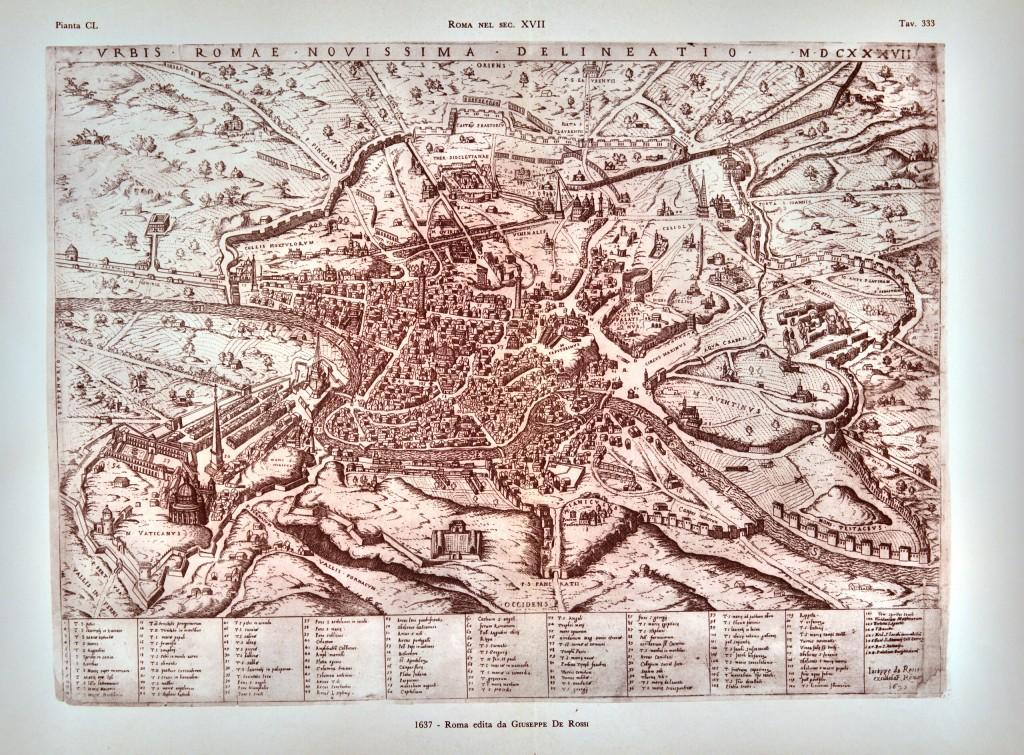 1637 - Roma edita da Giuseppe de Rossi