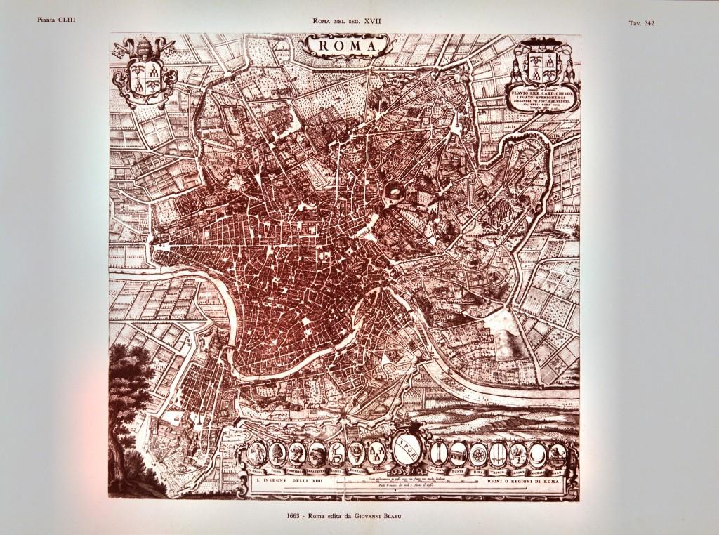 1663 - Roma edita da Giovannni Blaeu