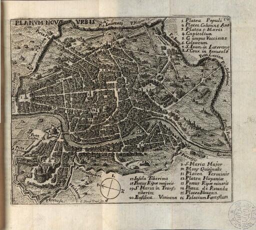 1777 - Planum Novae Urbis